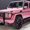 Would you have ever guessed that Trisha Paytas drives a bright pink Mercedes?