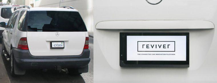 Reviver rPlate digital license plate