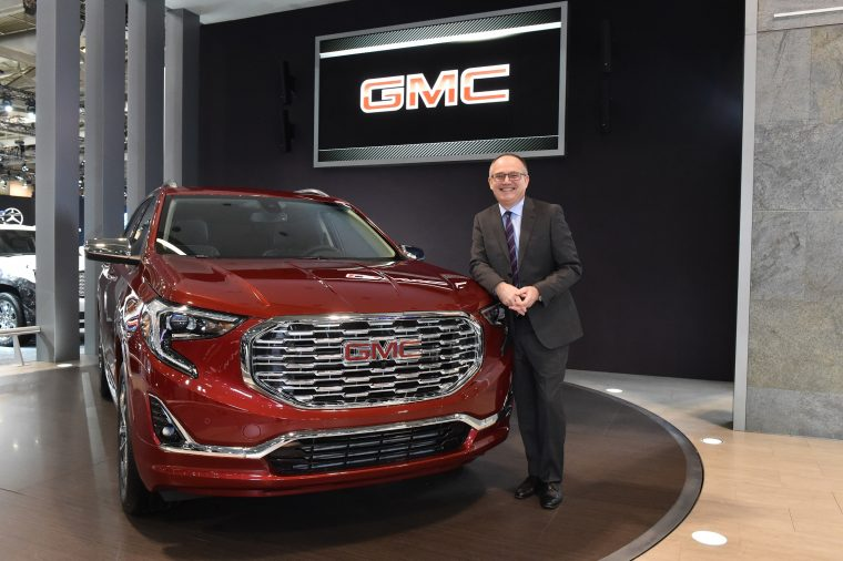 Mike Speranzini with 2018 GMC Terrain