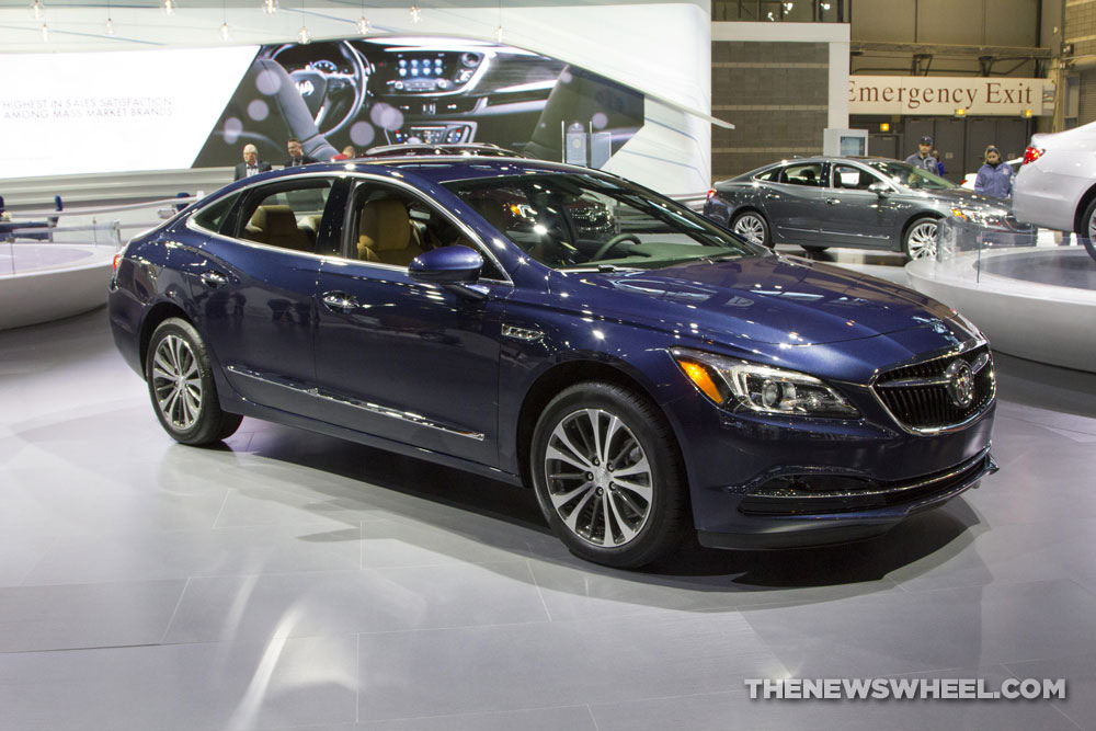 Buick brought a new LaCrosse sedan to the 2017 Chicago Auto Show
