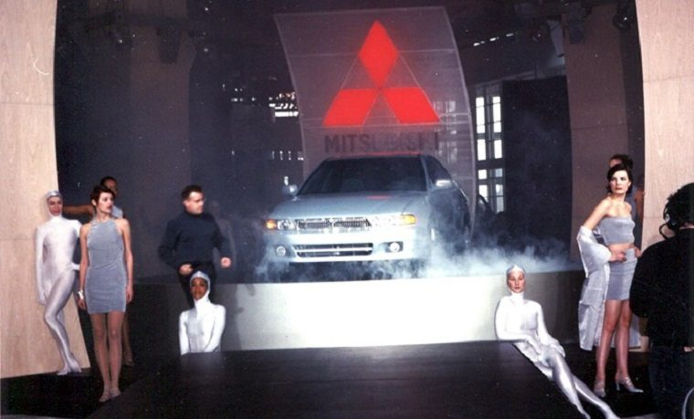 1999 Mitsubishi Galant at Chicago Auto show