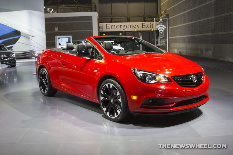 Buick brought new Cascada convertible to the 2017 Chicago Auto Show