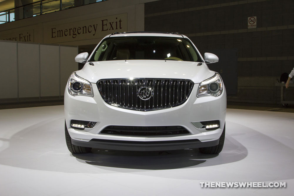 Buick brought a new Enclave SUV to the 2017 Chicago Auto Show
