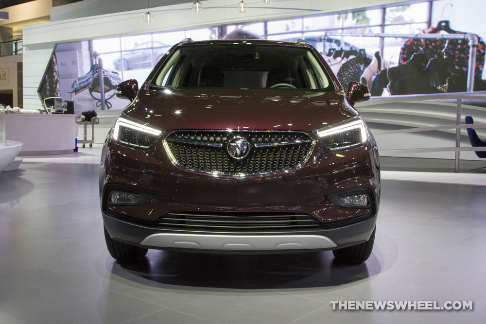 Buick brought a new Encore crossover to the 2017 Chicago Auto Show