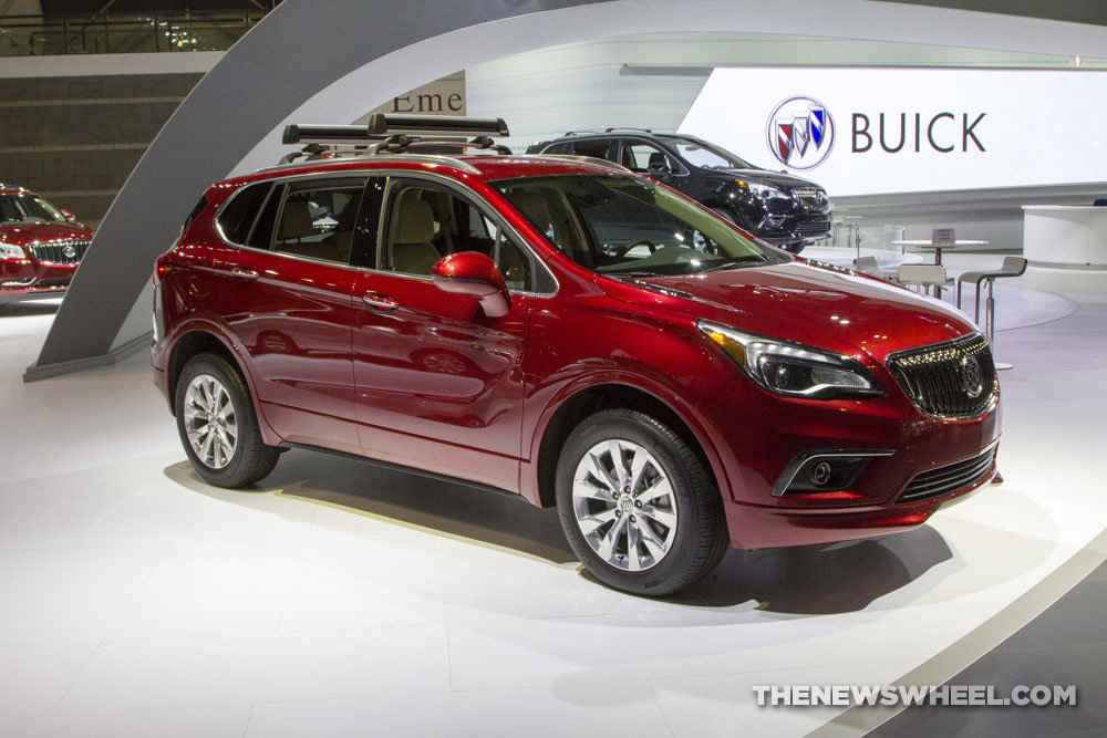 Buick brought a new Envision SUV to the 2017 Chicago Auto Show