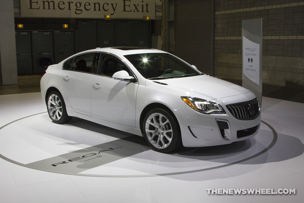 Buick brought a new Regal sedan to the 2017 Chicago Auto Show