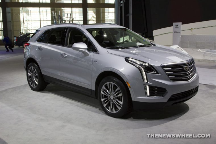 Cadillac brought its entire model lineup to the 2017 Chicago Auto Show, including the 2017 Cadillac XT5 crossover