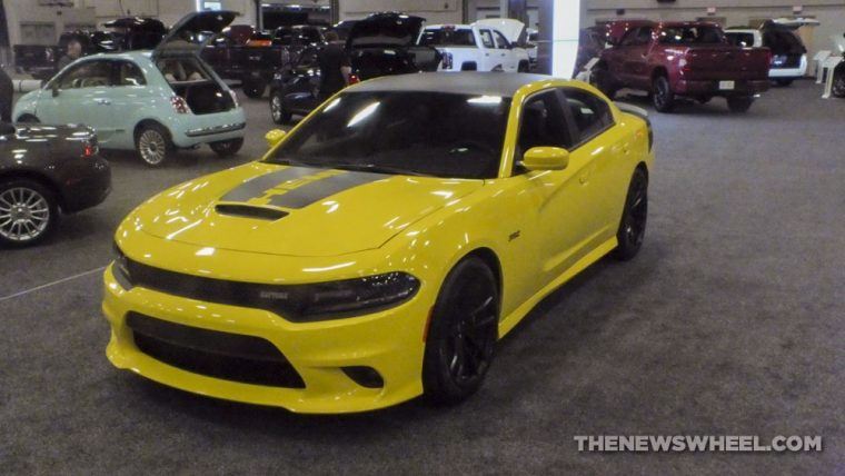 The 2017 Charger Daytona 392 was one of the most stunning cars at the 2017 Dayton Auto Show