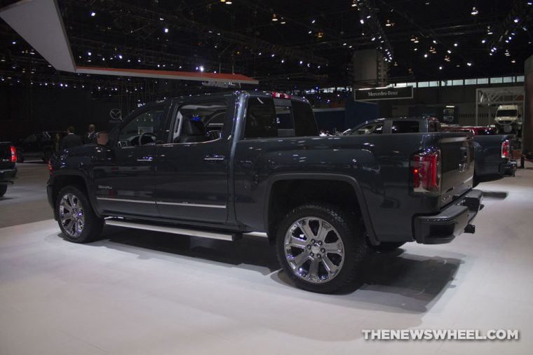 GMC brought its full lineup of vehicles to the 2017 Chicago Auto Show, including the 2017 GMC Sierra Denali