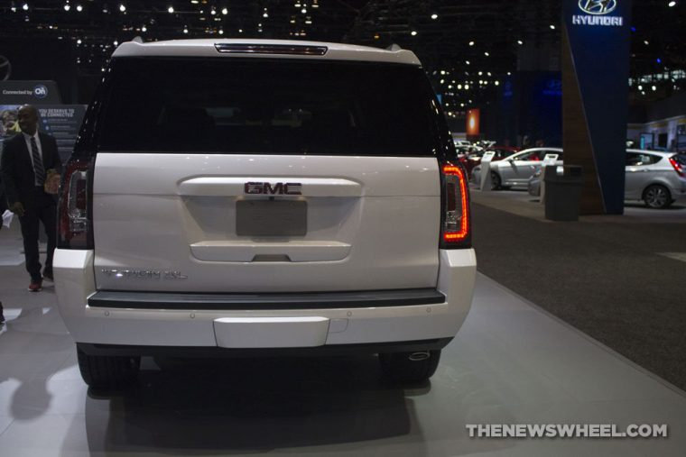 GMC brought its full lineup of vehicles to the 2017 Chicago Auto Show, including the 2017 GMC Yukon XL