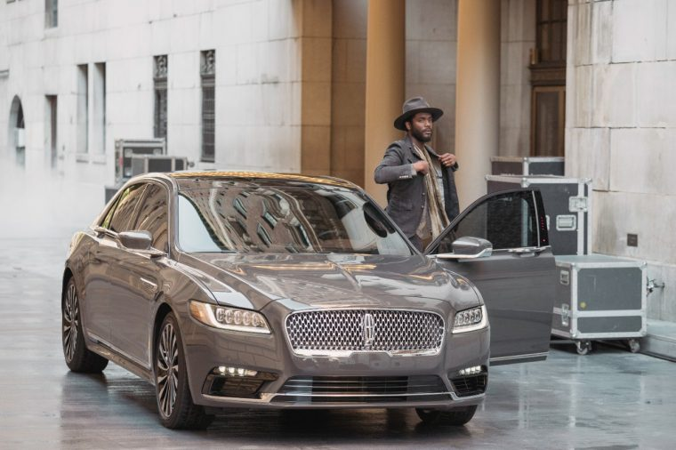 Gary Clark Jr with the 2017 Lincoln Continental