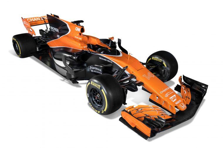 2017 McLaren Honda MCL32
