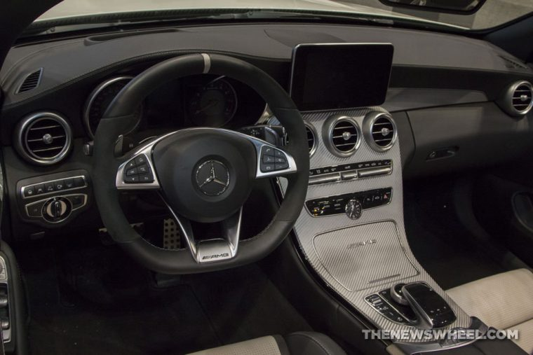 Mercedes-Benz brought its full fleet of vehicles to the 2017 Chicago Auto Show, including the 2017 Mercedes-Benz C-Class