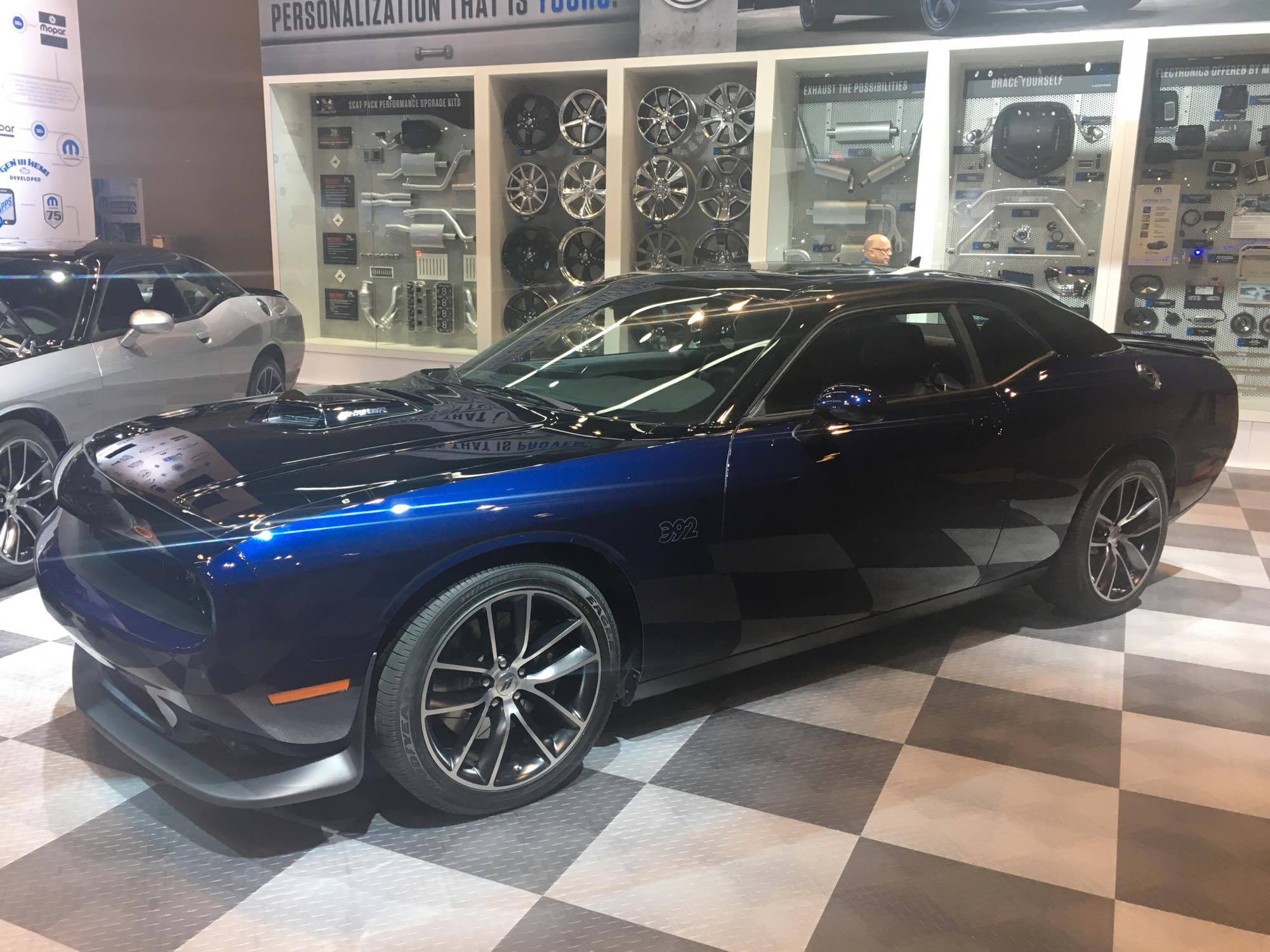 Mopar Debuts The Mopar 17 Dodge Challenger At The Chicago