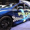 2017 Subaru WRX STI anti-bullying sedan car on display Chicago Auto Show