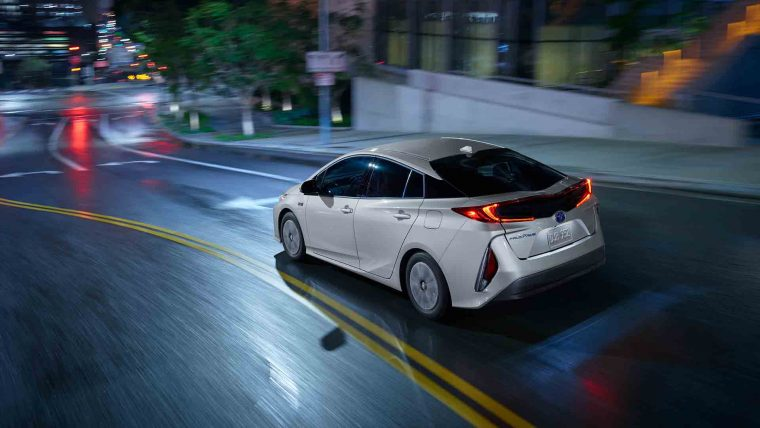 2017 Toyota Prius Prime exterior