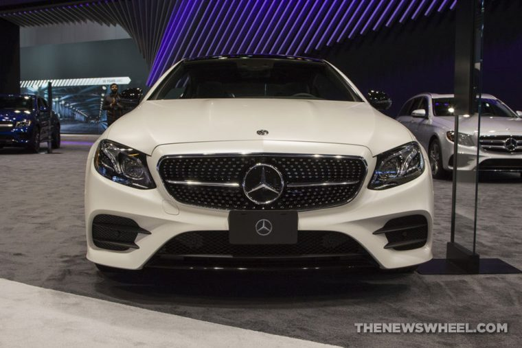 Mercedes-Benz brought its full fleet of vehicles to the 2017 Chicago Auto Show, including the 2017 Mercedes-Benz E-Class