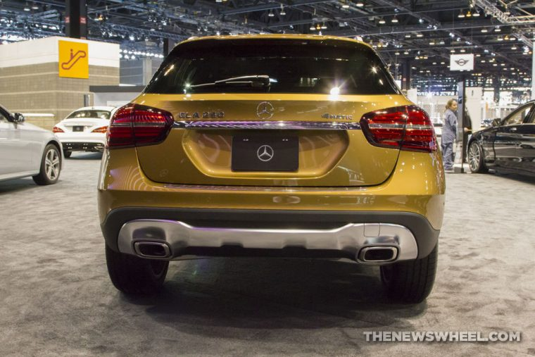Mercedes-Benz brought its full fleet of vehicles to the 2017 Chicago Auto Show, including the 2018 Mercedes-Benz GLA-Class
