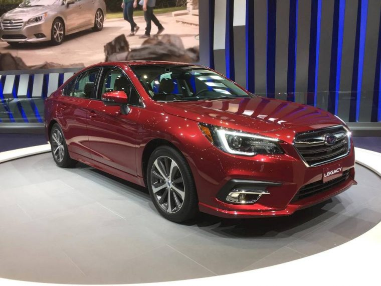 The 2018 Subaru Legacy delighted the crowd at this year's Chicago Auto Show