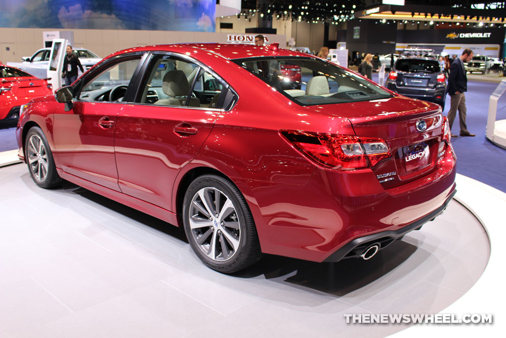 2017 Chicago Auto Show Photo Gallery See The Cars Subaru