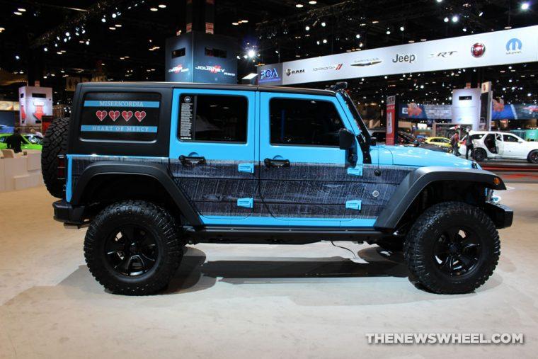 CAS 2017 Jeep Wrangler