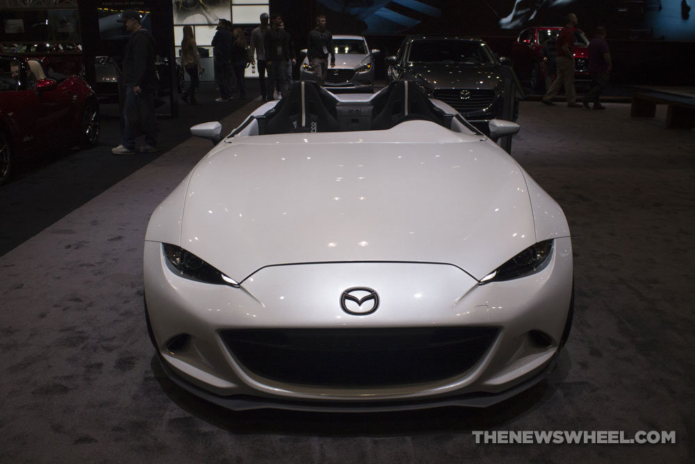 Mazda MX-5 Speedster Evolution Concept