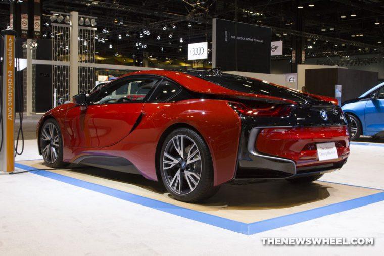 CAS 2017 BMW i8