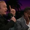 Bob Odenkirk and David Oyelowo doing Carpool Karaoke on Late Late Show