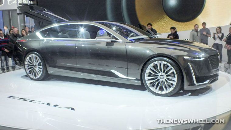 The Cadillac Escala Concept is one of the new models that GM will be displaying at the 2017 Chicago Auto Show