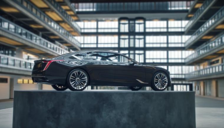 Cadillac Escala in 2017 Oscars commercial Pedestal