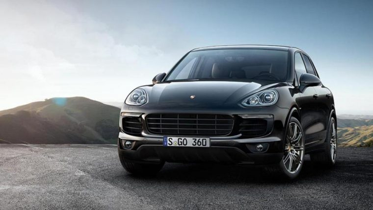 The new Porsche Cayenne S Platinum Edition will not be available in the US market