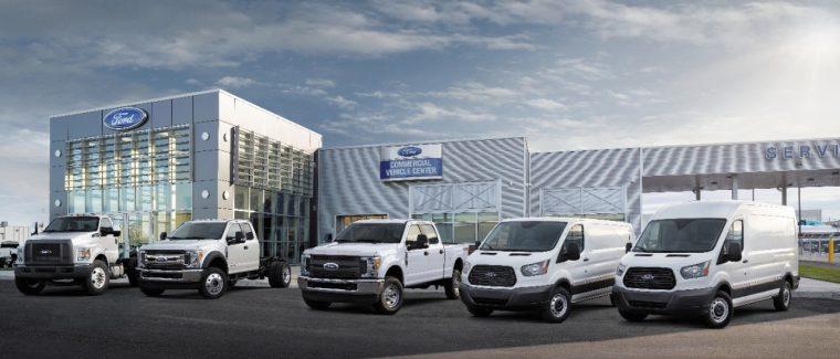 Ford Commercial Vehicle Center Program