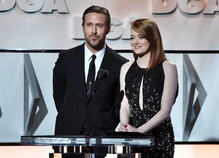 Ryan Gosling and Emma Stone, stars of the award-winning La La Land