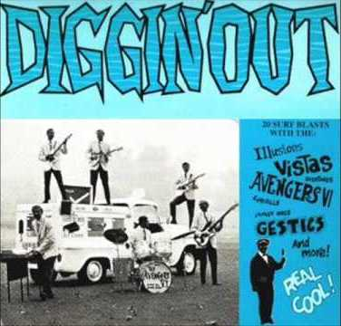 Diggin Out Surf bands album collection car band names
