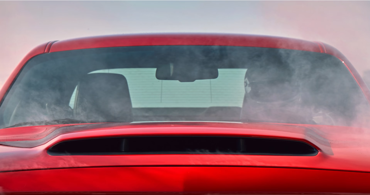 The Scoop On The Dodge Demon S Hood Scoop The News Wheel