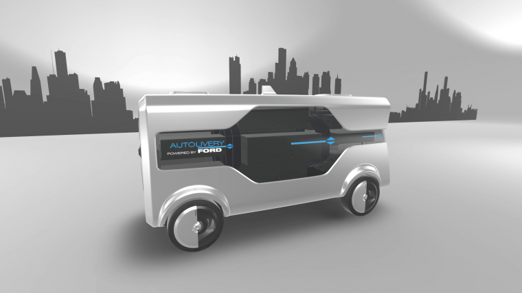Ford Autolivery concept