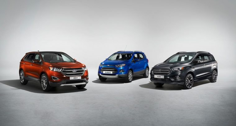Ford Edge, Ford EcoSport, Ford Kuga