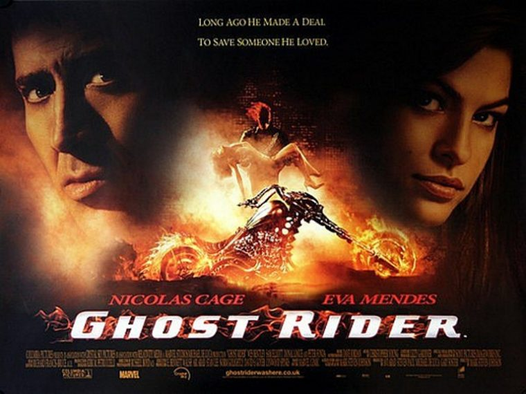 "Apparently, it has nothing to do with Nicolas Cage's ""hit"" movie Ghost RiderPhoto: Marvel Comics/Columbia Pictures"