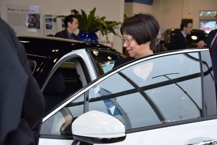 Heather Mc Laughlin Takes Delivery of the First Clarity Fuel Cell in Northern California at Dublin Honda on February 6, 2017