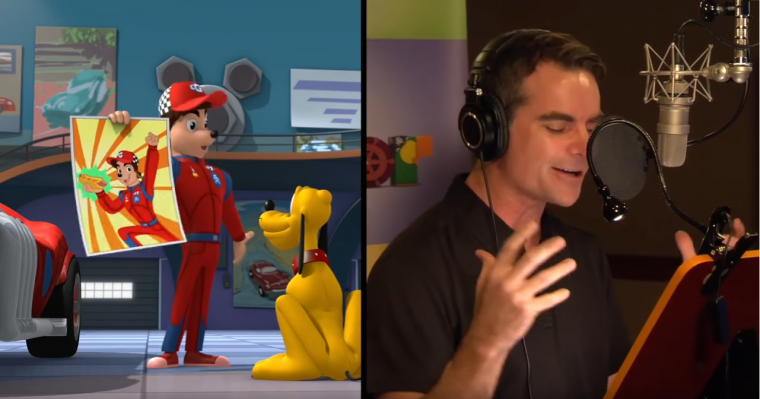 Jeff Gordon and his Disney Counterpart Gordon GearPhoto: The Walt Disney Company