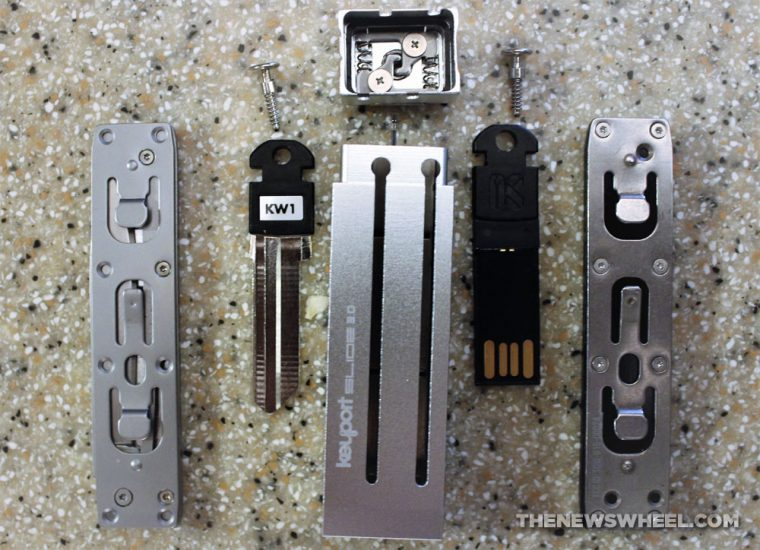 Keyport Key Product Review Car Accessory Slide Assembly