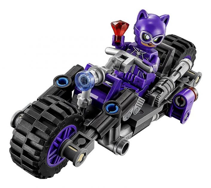Catwoman's CatcyclePhoto: LEGO