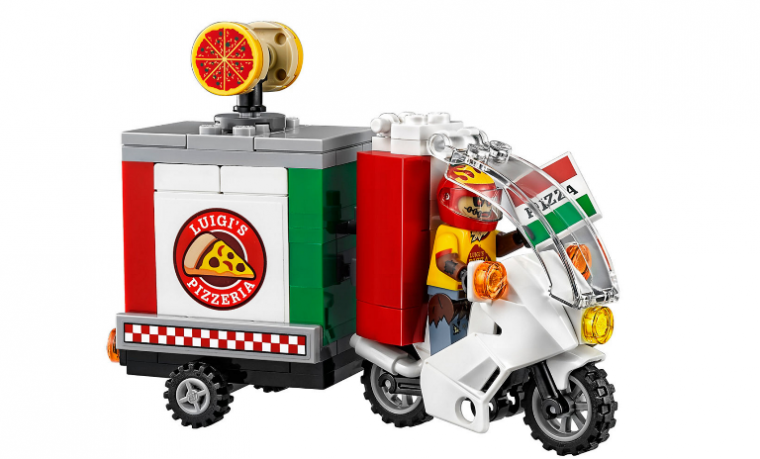 Scarecrow's Pizza Delivery BikePhoto: LEGO