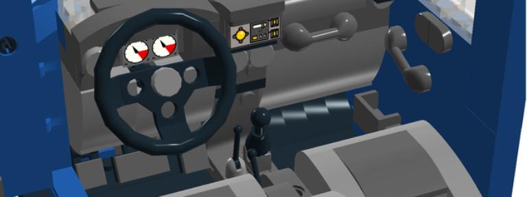 A look inside the LEGO Jeep Wrangler JKPhoto: LEGO Ideas