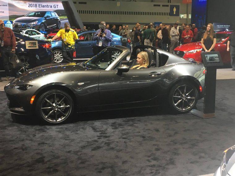 Mazda MX-5 Miata RF at 2017 Chicago Auto Show