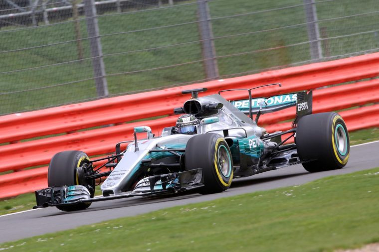 Mercedes AMG Petronas W08