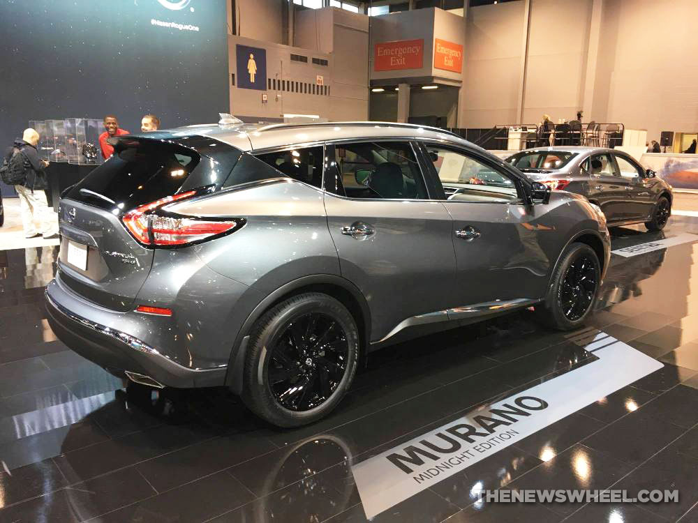 Nissan Murano 2017 Red >> Nissan Brings New Midnight Edition Models to Chicago Auto Show [Photos] - The News Wheel