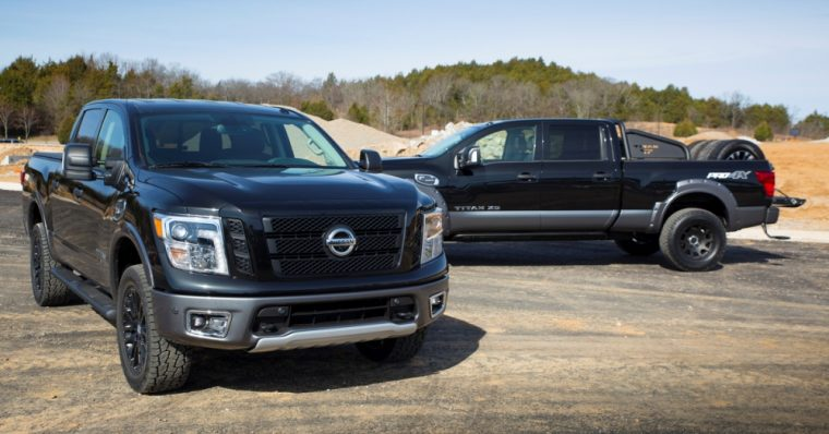 The Nissan Titan Pro-4X and Titan XD debuted at the 2017 Chicago Auto Show