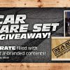 The News Wheel Man Crate Giveaway Banner Image NASCAR prize