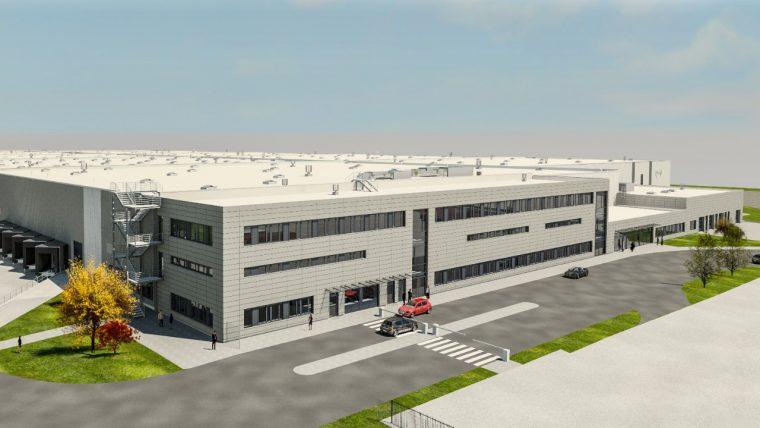 Opel logistics center Bochum